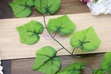 Artificial grape vine fruit rattails vines model at home decoration rattan