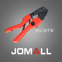 Купить с кэшбэком AN-26TW crimping tool crimping plier 2 multi tool tools hands AN Ratchet Terminal Crimping Plier (European Style)