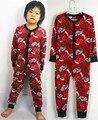Envío gratis nuevo estilo niño onesie sleepers manta niños del algodón ropa de niños en general delgada cómoda pijama mono