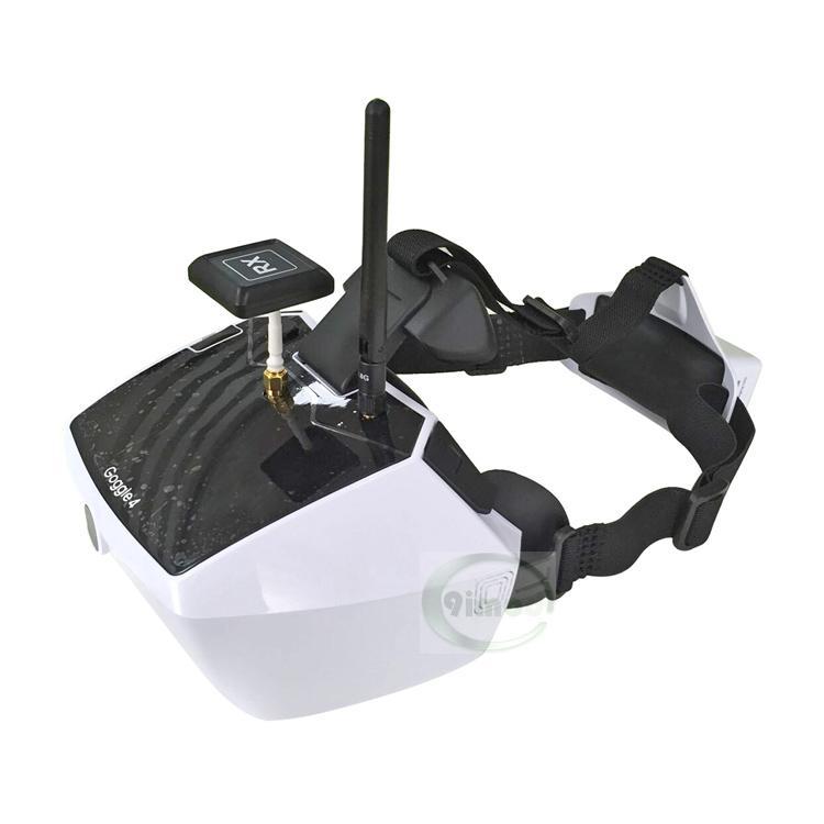 Originele Walkera 5.8G 40 kanalen Goggle4 FPV Video beeldoverdracht bril FPV bril met antenne F18065-in Drone Accessoires Kits van Consumentenelektronica op  Groep 1