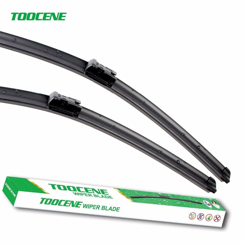 Toocene Windshield Wiper Blade For VW Jetta5 Passat B6 B7 CC Golf5 Golf 6 Eos 2005-2016 24+19Windscreen wiper blade Rubber