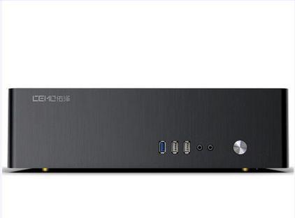 Алюминиевый корпус компьютера горизонтальная MINI ITX HTPC небольшой шасси Цвет Черный или Серебро или Золото