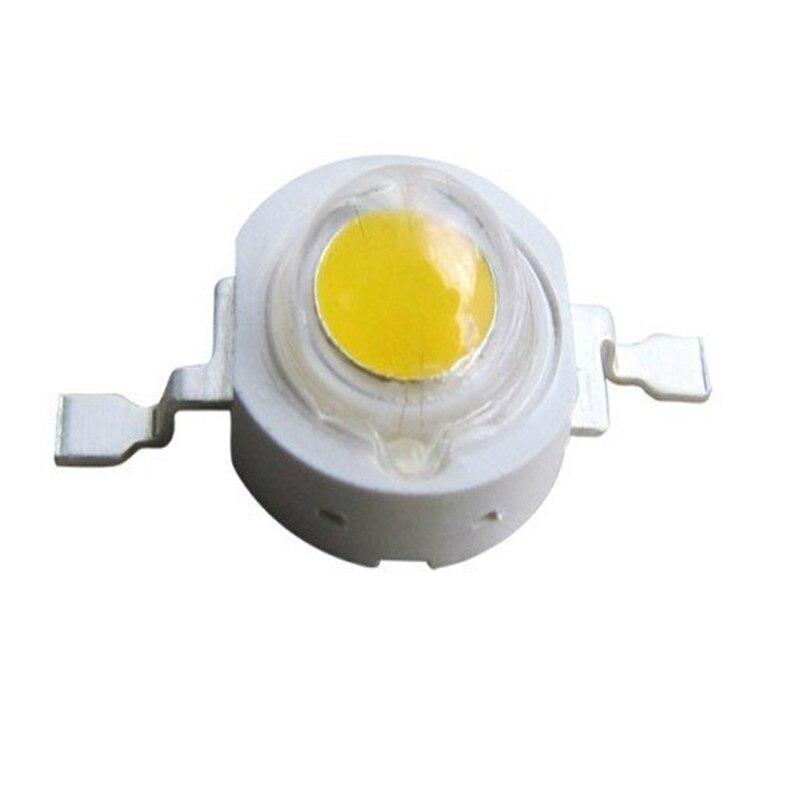 1 W LEVOU chip de Alta potência LEVOU talão de luz da lâmpada 6000-6500 K/3000-3200 K 350mA 3-3.4 V 110-120LM 33mil Chip Epistar 500 pcs Frete Grátis