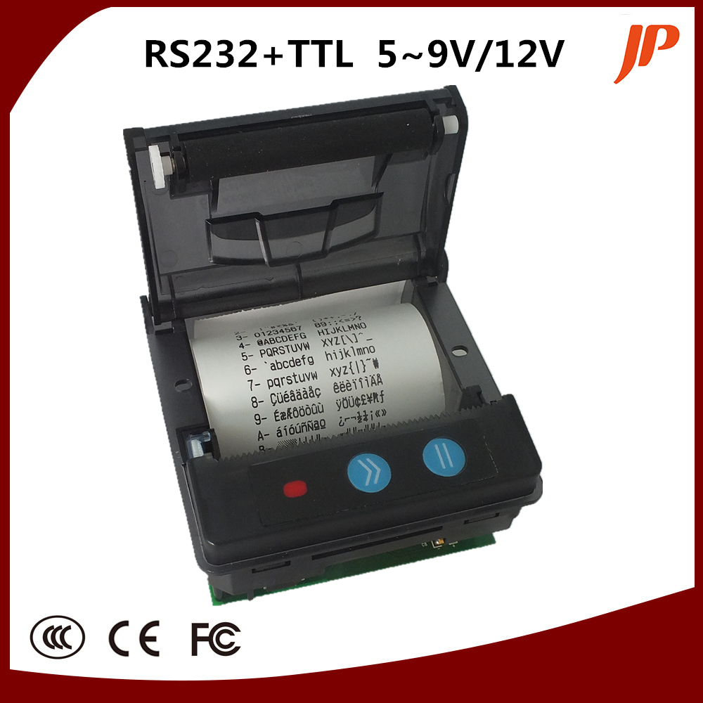 58mm font b receipt b font thermal panel font b printer b font support Serial and