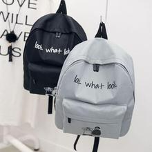 kai yunon Girl Boy Canvas School Bag Travel Backpack Satchel Cartoon Shoulder Rucksack Aug 18