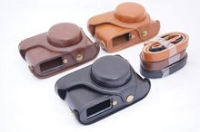 Vintage Video camera case bag for Leica X1 X2 X-1 X-2 digital camera PU leather camera bag with strap take out battery directly