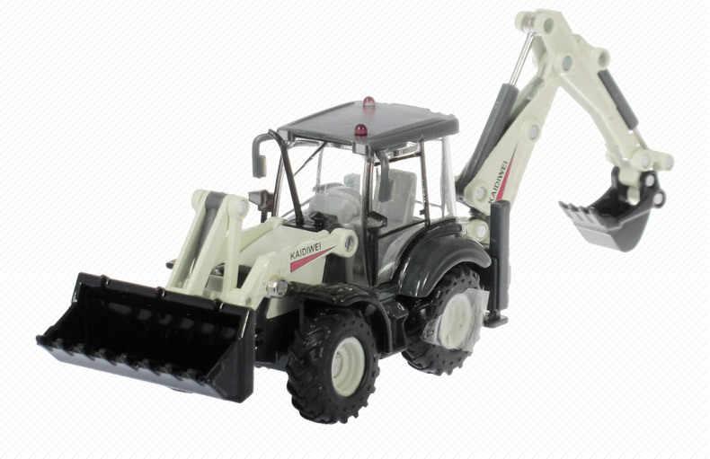 1: 50 Kaidiwei Semua Paduan Proyek Dua Arah Forklift Truck Model Anak Ulang Tahun Hadiah Alloy Teknik Kendaraan Mobil Model Mainan