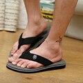 2016 Summer Shoes Sandals men Flats ,Fashion Leisure Soft Flip Flops,EVA Massage Beach Slippers Shoes For Men Size 39-44 3colors