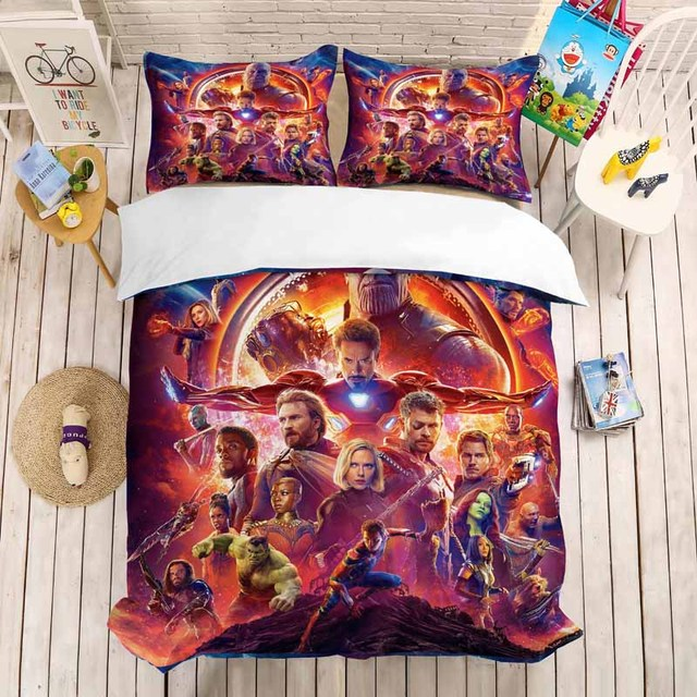 The Avenger Bed Set Duvet Covers (NO sheet) 16