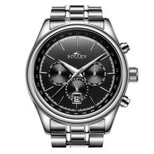 Sport Watches For Men Orologi Uomo With three Small Dials Reloj De Los Hombres Automatic Watch Men Erkek Kol Saati Gift For Men