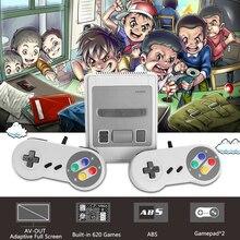 Mini SNES TV Video Game Consoles Gampad 2.4G 8Bits Wireless Retro Family Handheld Player Joystick 620 Classic Games