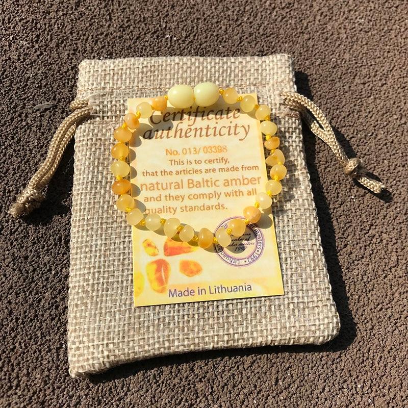 HTB1JT6ALSzqK1RjSZFpq6ykSXXaP Yoowei 6 Colors Natural Amber Bracelet/Anklet Chic Women Amber Bracelet Baltic 4mm Small Beads Baby Teething Jewelry Wholesaler
