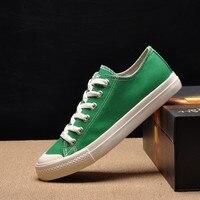 New Men S Canvas Shoes Breathable White Black Casual Shoes Men Fashion Solid Color Mens Shoes