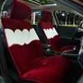 Car-covers artificial fur universal car seat covers fundas sportage Ceed Rio Qdshqai Quoris Cerato Sorento Picanto Mohave Soul