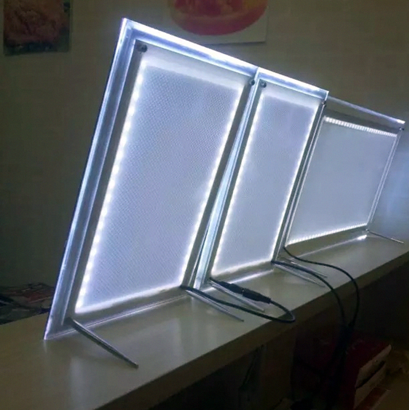 A3 führte acryl plakatrahmen, led beleuchtet bilderrahmen ...
