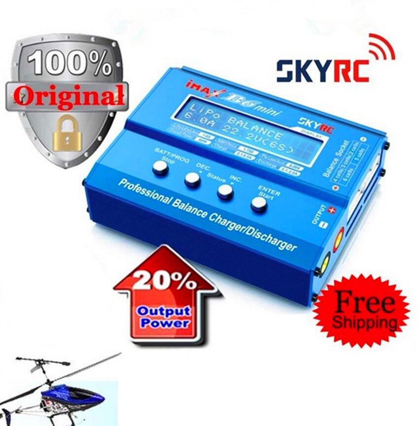 SKYRC небо RC Imax B6 мини 60 Вт Профессиональный Батарея баланс Зарядное устройство Dis Зарядное устройство многофункциональный для Вертолет Drone за...