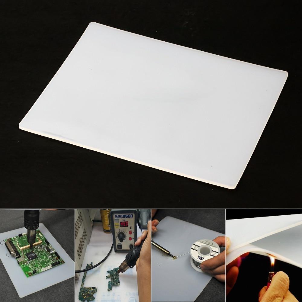 Nová 23 * 18 * 0,3 cm tepelná izolace silikonová podložka BGA - Sady nástrojů - Fotografie 4