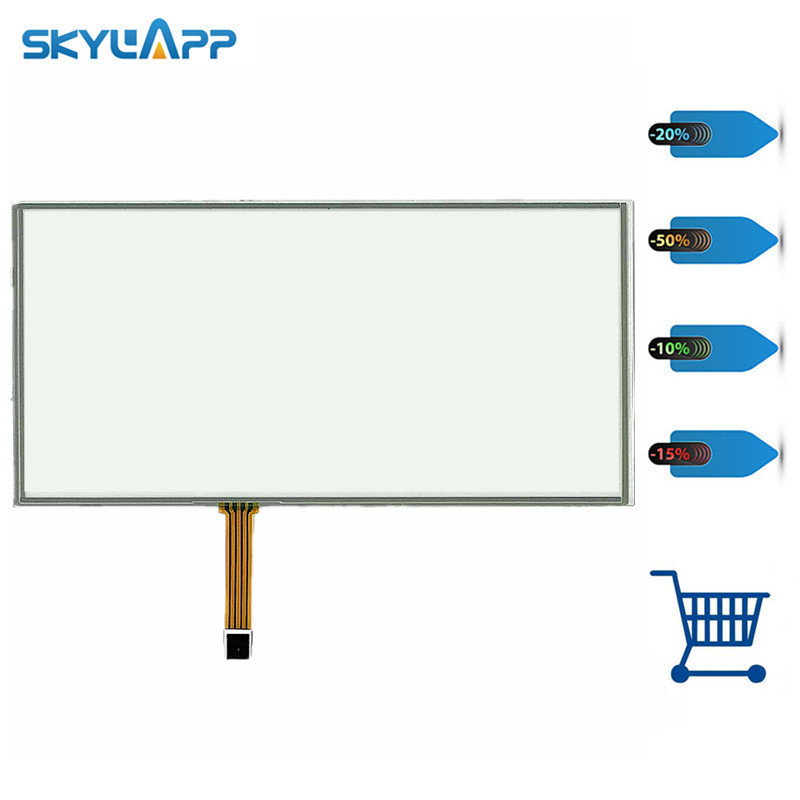 цена на Skylarpu 21.5 inch for 490mm*285mm For Industrial equipment touch screen digitizer panel + USB driver board Free shipping