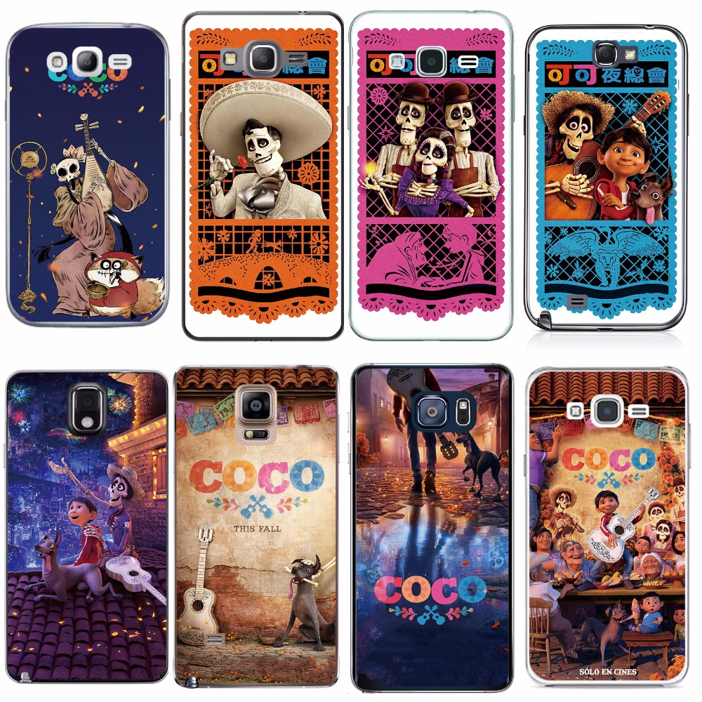 For Samsung S2 S3 S4 S5 MINI S6 S7 edge S8 Plus Coco Case Mobile Phone Cover Bag Housing Shell Skin Mask Funda DIY Customized