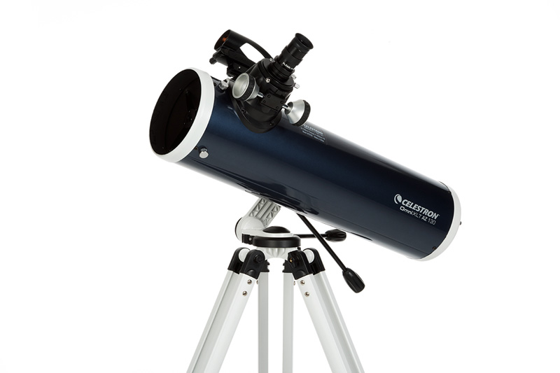 What could isaac newton see through his telescope