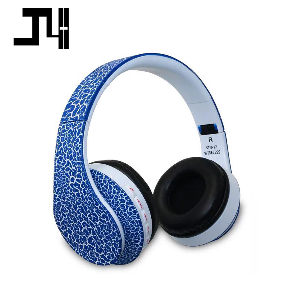 High Quality Bluetooth Headphones STN-12 Wireless Big Earphones Stereo Hand Free Call with Mic Headsets Headphones fone sem fio earfun brand big headphones with mic