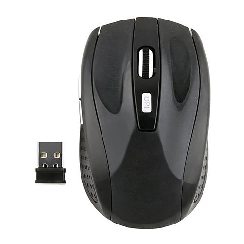 Portable Mini 2.4GHz Wireless Optical Mouse USB 2.0 Receiver For Laptop PC Computer