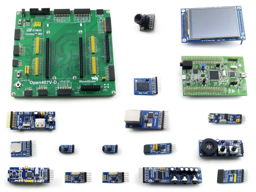Open407V D แพคเกจ B = STM 32 Board, ST เดิม STM32F4DISCOVERY/STM32F407G DISC1, STM32F407VGT6 + 3.2 'TFT 320x240 Touch LCD + 15 ACC-ใน บอร์ดสาธิต จาก คอมพิวเตอร์และออฟฟิศ บน AliExpress - 11.11_สิบเอ็ด สิบเอ็ดวันคนโสด 1