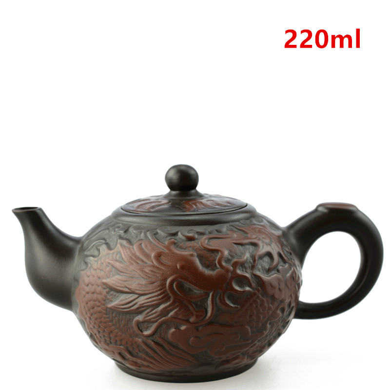 Purple Clay Tea pot Chinese Yixing Ceramic Teapot Drinkware KungFu Tools Dragon Zisha Tea Pot Set