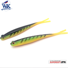 W&K Fork Tail Fishing Lures 5 Soft Lure for Drop Shot Rig Baits 13 cm 5pcs/lot Bass Perch Catfish PVC Bait