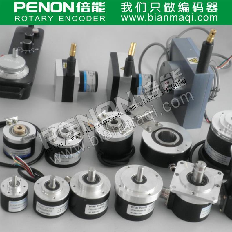 BES38-06S72T-1024 Bonner rotary encoder 1024 pulses 6mm diameter solid shaft