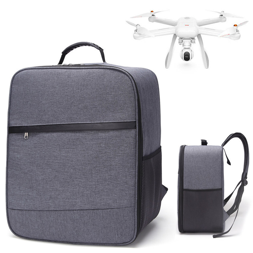 Outdoor Shockproof Backpack Shoulder Bag Soft Carry Bag For XIAOMI Mi Drone 4K 1080P FPV RC Quadcopters MAY 27