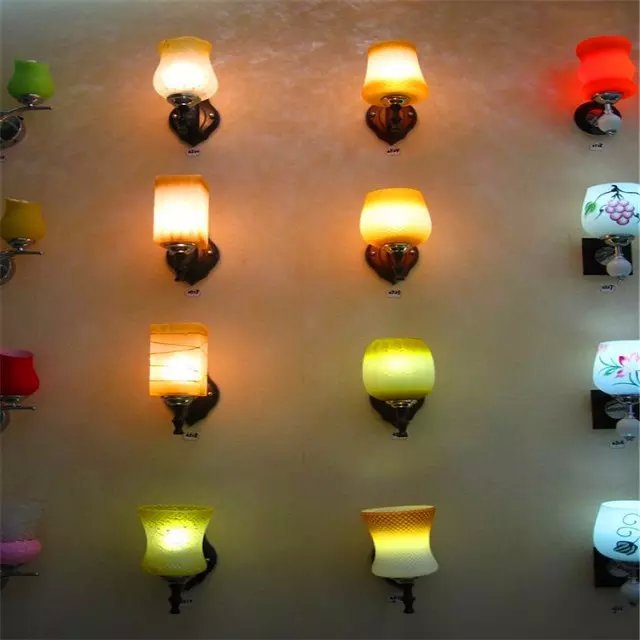 Glass lamp, apply to hotels, guest houses, engineering bedroom, living room, hallway and other places ]special places to stay india and sri lanka kristi