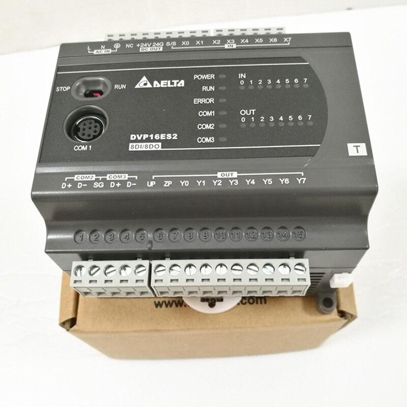 DELTA PLC ES2 Serial New And Original Programmable Logic Controller DVP16ES200R YDELTA PLC ES2 Serial New And Original Programmable Logic Controller DVP16ES200R Y