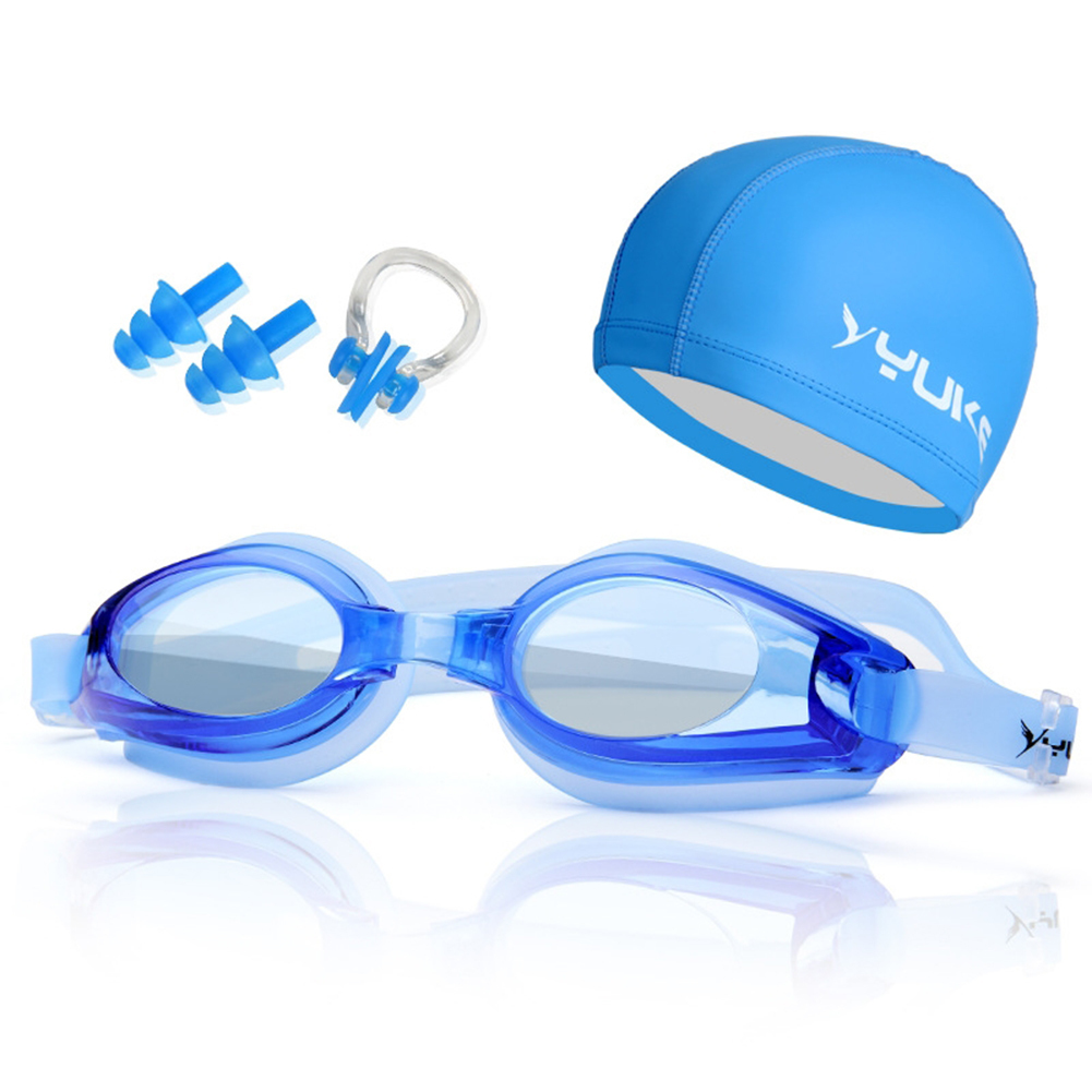 6174e91b1d0 Myopia Swimming Goggles HD Shortsighted Swimming Glasses with Hat Diopter Spectacles  Plating Lens Nearsighted Swim Pool Use Set-in Swimming Eyewear from ...