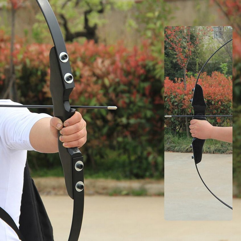 Outdoor Hunting Bow Sports Match Shooting Bow Imitation Of The United States Hunting Straight Bow
