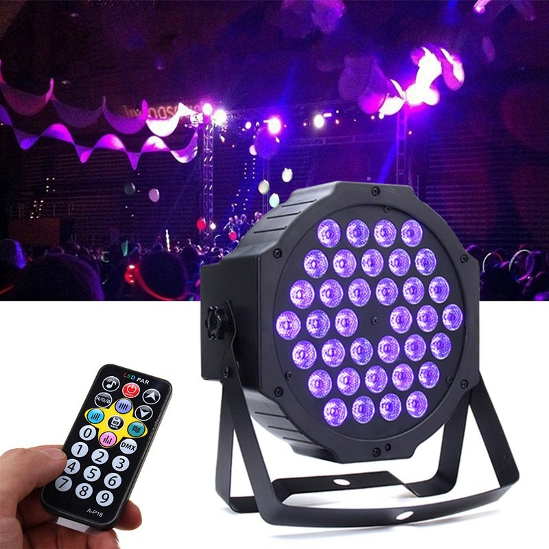 Best Price 36W Auto/Sound Active LED Stage Light DMX LED Stage Lighting Effect Lamp For Party Disco Club Bar DJ Show KTV Lights mini rgb led party disco club dj light crystal magic ball effect stage lighting