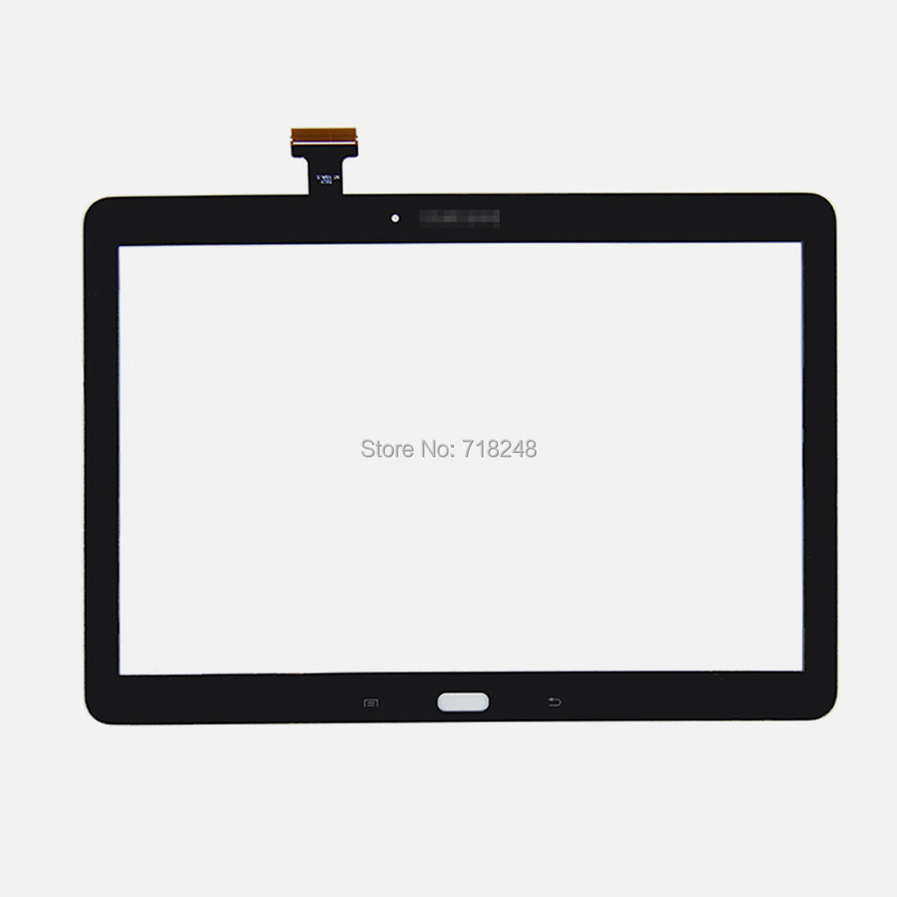 ФОТО Original For Samsung SM-P600 Galaxy Note 10.1 Digitizer Touch Screen Outer Glass Panel Replacement Black