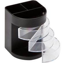 Comix многофункциональный контейнер для ручек трехслойный прозрачный контейнер для хранения Простые Модные канцелярские принадлежности для студентов офисные школьные принадлежности