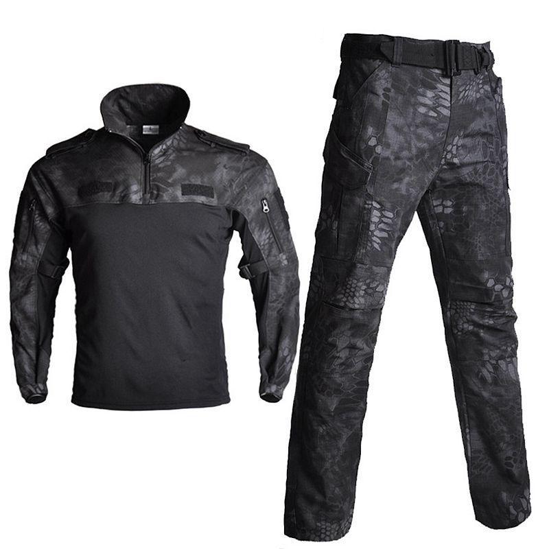 Uniforme tactique Multicam chemise de Combat FG vêtements de Combat uniforme d'entraînement militaire Python pantalon + chemises vêtements d'armée Airsoft