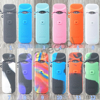 20pcs Texture Silicone Cover Case for Smok Nord is Non-Slip Protective Silicone Skin Sleeve Wrap gel Smoktech Nord Pod Vape Kit