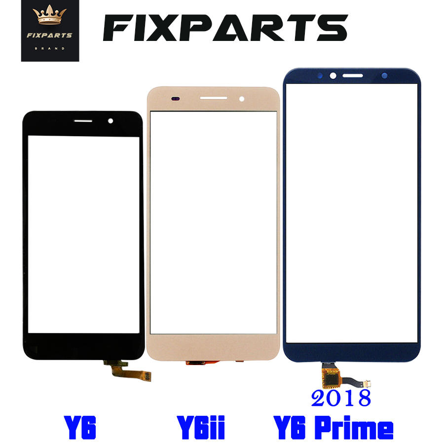 Huawei Y6 Touch Screen Digitizer SCL L01 L21 L04 U21 U31 Y6 Ii CAM L23 L03 L32 ATU Huawei Y6 2018 Touchscreen Front Glass Lens