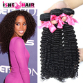Brazilian Virgin Hair 3pcs 100g/pc Discount Brazilian Kinky Curly virgin hair 7 a grade Unprocessed Virgin Hair Bundle Deals