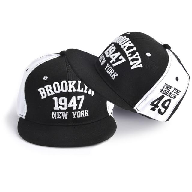 85323963183 Hot Letter Embroidery Couple Baseball Caps Flat Snapback Hip Pop Caps For  Women Panel Full Cap Hat Baseball Straight Brim Hat