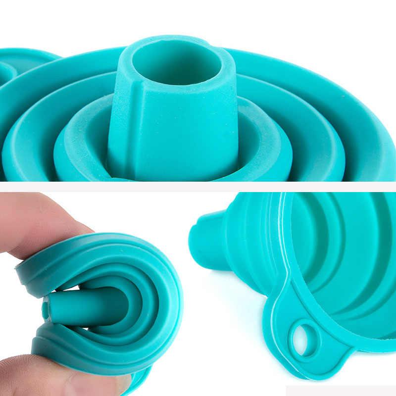 3 цвета удобный Diamond аксессуары для рисования контейнер для бисера Складная силиконовая воронка алмаз вышивальные инструменты организатор