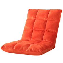 Bedroom Furniture Folding Sofa Bed Comfortable Living Room Window Corner Sofa Folding Lounge Chair Bed Modern Sofa 4 Colors