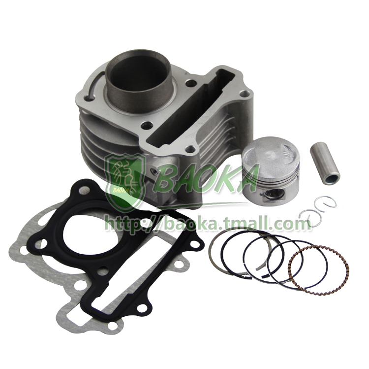 ФОТО Motorcycle scooter heroic little guy GY6 48 50 80 sets of cylinder cylinder block cylinder assembly