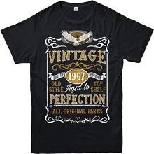 9b8a8be72a704e Made in 1967 Annata T-Shirt. Nato 1967 50th Di Compleanno Anno di Età