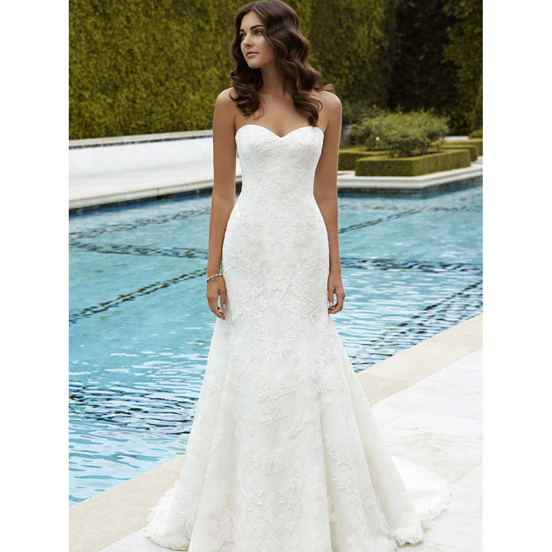 Enchanting Fit And Flare Dress Wedding Collection - Wedding Dress ...