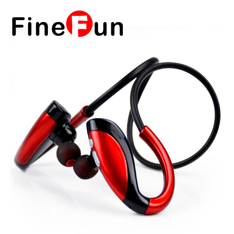 ФОТО FineFun X26 Bluetooth Headset In-ear Sports Wireless Headsets Bluetooth V4.1 Earbuds Earphones Headphones long Standby with Mic