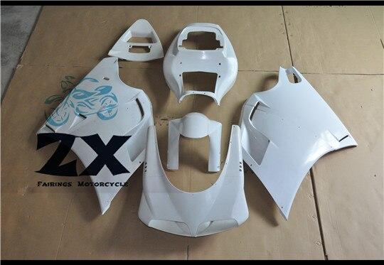 МОТОЦИКЛ ABS система впрыска Кузов обтекатель клобук комплект для DUCATI 996 748 916 1996 1997 1998 1999 2002 Неокрашенный ZXMTD996